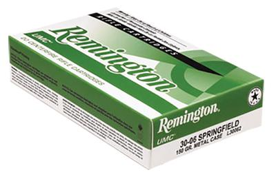 Remington Ammunition L303B1 UMC 303 British 174 GR Metal Case (FMJ) 20 Bx/ 10 Cs
