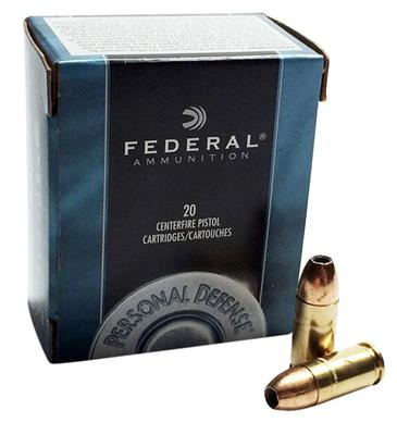 Federal C45D Standard 45 ACP Jacketed Hollow Point 230 GR 20Box/25Case