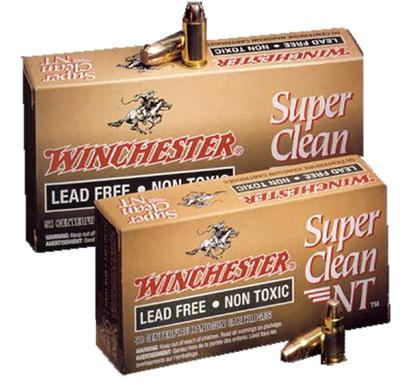 Winchester Ammo SC40NT Winchester Handgun 40 Smith & Wesson 140 GR Jacketed Flat Point 50 Bx/ 10 Cs