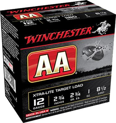 Winchester Ammo AAL1285 AA Target Loads 12 Gauge 2.75