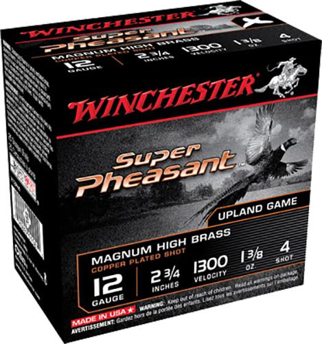 Winchester Ammo X12ph4 Super Pheasant Plated Hv 12 Gauge 2.75