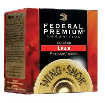 Fed PF1546 Wing-Shok High Velocity Lead 12ga 2.75