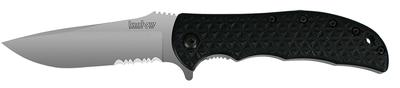 Kershaw 3650ST Volt Folder 8C13MoV Stainless Drop Point Blade Black Polyimide