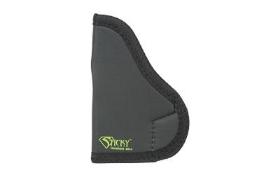Sticky Holsters MD-4 Glock 43/M&P Shield Latex Free Synthetic Rubber Black w/Green Logo