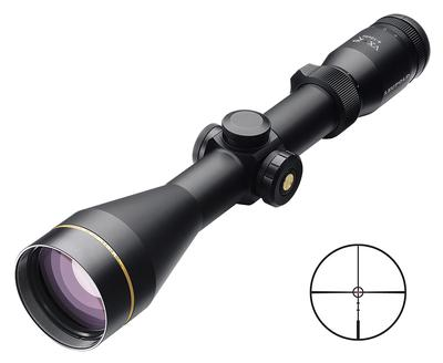 Leupold 111249 VX-R 4-12x 50mm Obj 22-10.4 ft @ 100 yds FOV 30mm Tube Dia Black Matte Ballistic FireDot