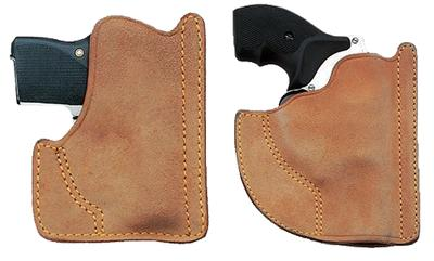 Galco PH204 FRONT POCKET HOLSTER 204 Pocket Natural Horsehide/Leather