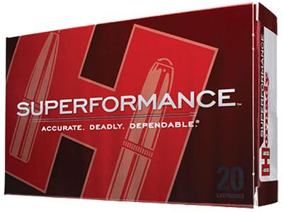 Hornady 85507 Superformance 6.5X55mm Swedish 140 GR SST 20 Bx/ 10 Cs