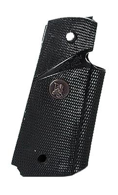 Pachmayr 02921 Signature Combat Pistol Grip 1911 Checkered Black