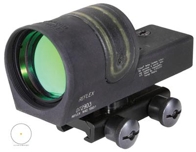 Trijicon 800049 RX34A51 Reflex 1x 42mm Obj Unlimited Eye Relief 4.5 MOA Black