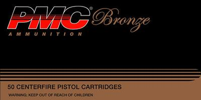 PMC 45B Bronze 45 Automatic Colt Pistol Jacketed Hollow Point 185 GR 50Box/20Cs
