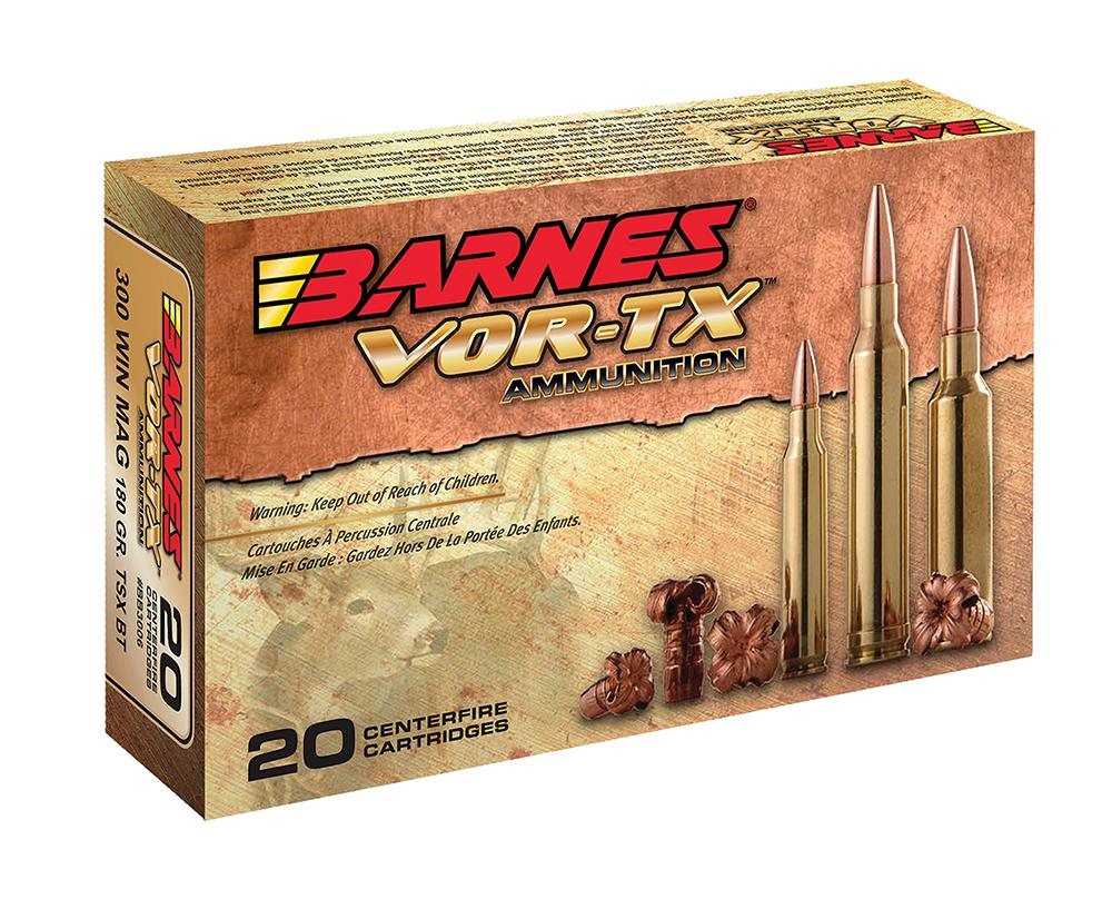 Barnes 21559 Vor- Tx 270 Win Short Mag 140gr Tsx Boat Tail 20box/10case