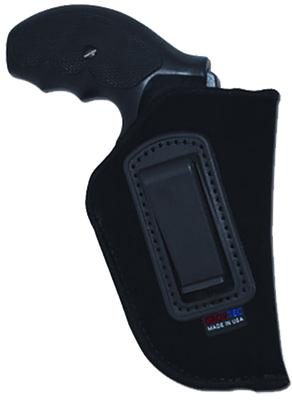 Grovtec US Inc GTHL14102R Inside-the-Pants Holster RH 02 Black Lammy Suede
