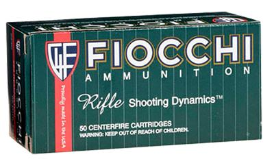 Fiocchi 243SPD Rifle Shooting 243 Win Pointed Soft Point 100 GR 20Bx/10Cs
