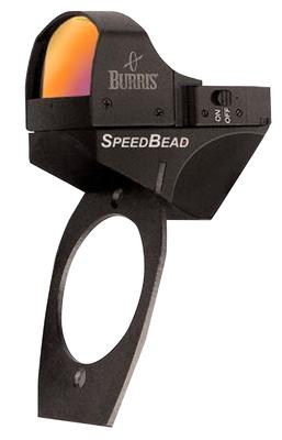 Burris 300248 Speed Bead 1x 21x15mm Obj Unlimited Eye Relief 8 MOA Black Matte