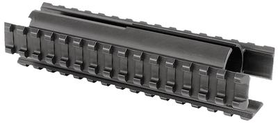Ergo 4870 Tri Rail Forend Remington 870 Shotgun Aluminum Black