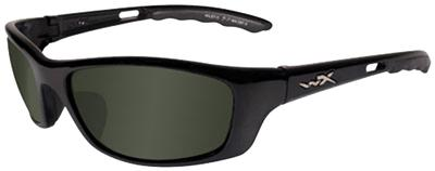 Wiley X Eyewear P17 P-17 Safety Glasses Gloss Black/Pol
