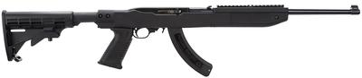 Ruger 1284 10/22 Tapco with 25 Round Magazine Semi-Automatic 22 Long Rifle 18.5