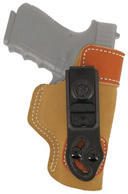 Desantis Gunhide 106NAC9Z0 Sof-Tuck RH HK Full Size 9mm/40Cal Saddle Leather/Suede Tan