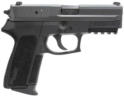 Sig Sauer SP202240BSSC SP2022 Full Size *CA Compliant* Single/Double 40 Smith & Wesson (S&W) 3.9