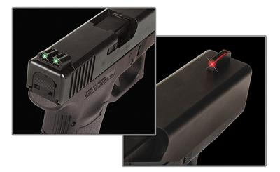Truglo TG131S1 Brite-Site Fiber Optic Sig Sauer Steel Green/Red Black