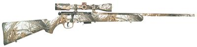 Savage 96776 93R17 XP Camo Snow with Scope Bolt 17 HMR 22