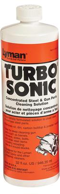 Lyman 7631715 Turbo Sonic Concentrated Steel and Gun Parts Cleaning Solution 32 oz