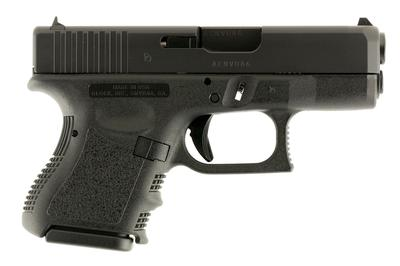 Glock UI2750201 G27 Subcompact Double 40 Smith & Wesson (S&W) 3.42