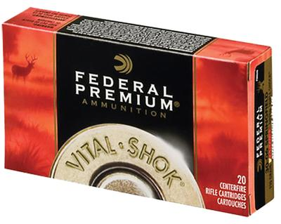 Federal P300WTC1 Vital-Shok 300 Win Magnum Trophy Copper 180 GR 20Box/10Case