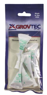 Grovtec US Inc GTHM80 Threadlocker Loctite Tubes White