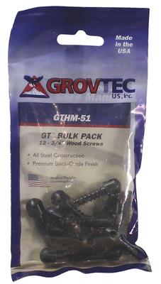 Grovtec US Inc GTHM51 Wood Screw Swivel Studs 0.75