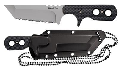 Cold Steel 49HTF Mini Fixed Japanese AUS 8A Stainless Tanto Blade 3
