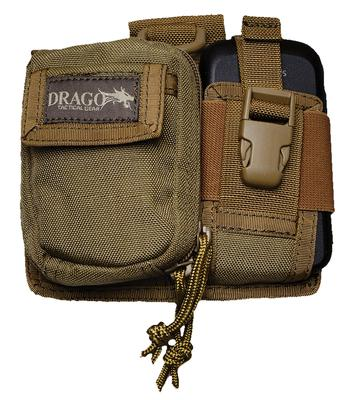 Drago Gear 16303TN Recon Camera & Phone Utility Case 600D Polyester Tan
