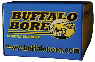 Buffalo Bore Ammunition 45/230 45ACP +P JHP 230GR 50Box/5Case