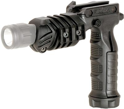 CAA VERTICAL GRIP W/INT LIGHT MOUNT