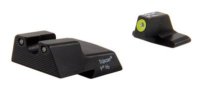 Trijicon HK111Y Tritium H&K HK Green Front/Rear Yellow Front Outline