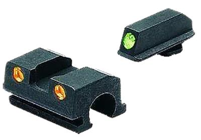 Meprolight 10110O Tru-Dot Handgun Night Sights Sig Sauer Tritium Green Tritium Orange Black