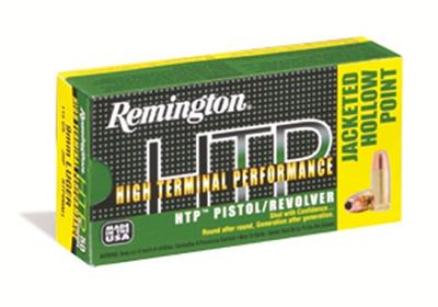 Rem Ammo RTP357M7 HTP 357Mag 110GR Semi Jacketed Hollow Point 50Box/10Case