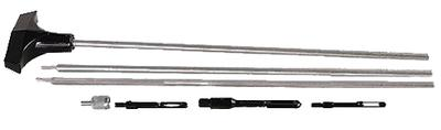 Hoppes 3PSS Bench Rest  3pc Stainless Steel Cleaning Rod Universal Rifle/Shotgun