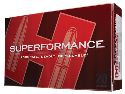 Hornady 8234 Superformance 376 Steyr 225GR Spire Point 20 Box/6 Case