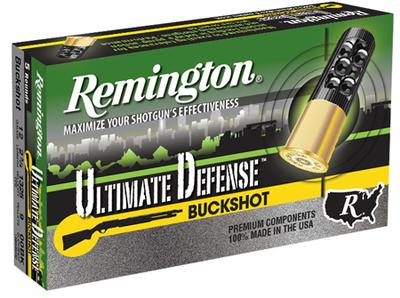 Remington Ammunition 12B009HD Ultimate Defense 12 Gauge 2.75