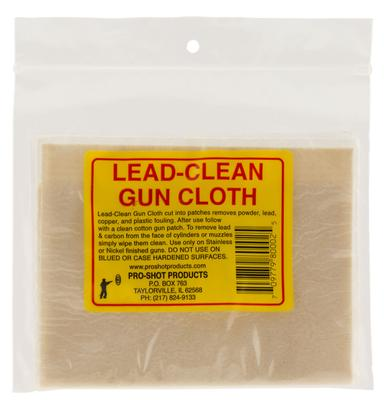 Pro-Shot LCC Lead Clean Gun Cloth  8.75