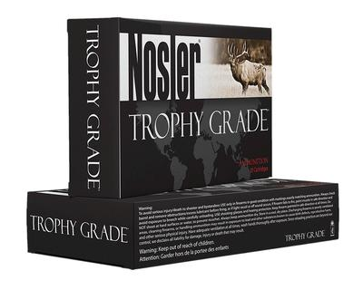Nosler 47118 Trophy 7mmX57mm Mauser 140GR AccuBond 20Bx/10Cs Brass