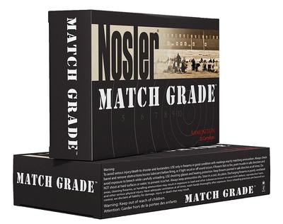 Nosler 43136 Match Grade Rifle 338 Lapua Magnum Hollow Point 300 GR 20Box/10Case