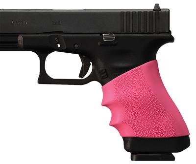 Hogue 17407 Springfield XD HandAll Grip Sleeve Springfield Armory XD Pink