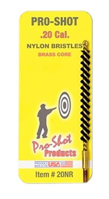 Pro-Shot 20NR Nylon Rifle Brush .20 Cal