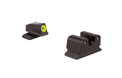 Trijicon BE110Y HD NS Beretta Px4 F/R Green Tritium Yellow Front Outline