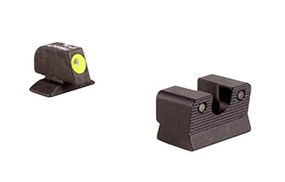Trijicon BE113Y HD NS Beretta 92A1/96A1 F/R Green Tritium Yellow Front Outline