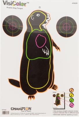 Champion Targets 45820 VisiColor Prairie Dog 1