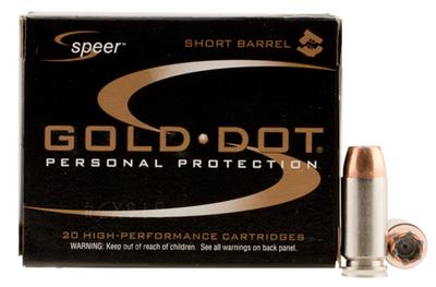SPR GOLD DOT 40SW 180GR HP SB 20/500