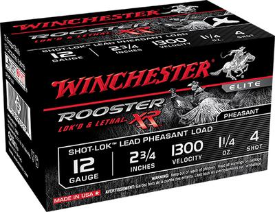 Winchester Ammo SRXR126 Rooster XR 12 Gauge 2.75
